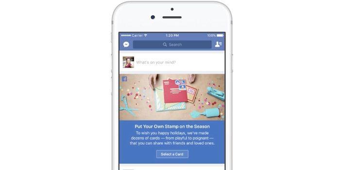 crear felicitaciones navidad facebook