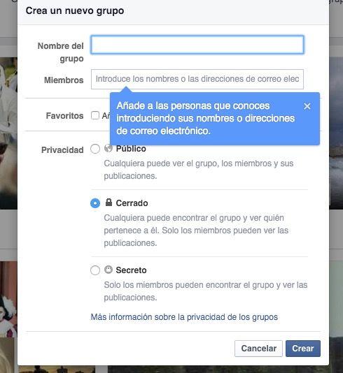 Crear Grupo de venta en Facebook