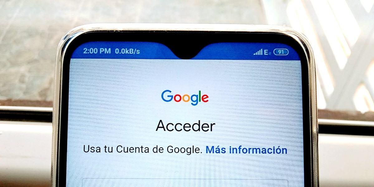 crear una cuenta de google android