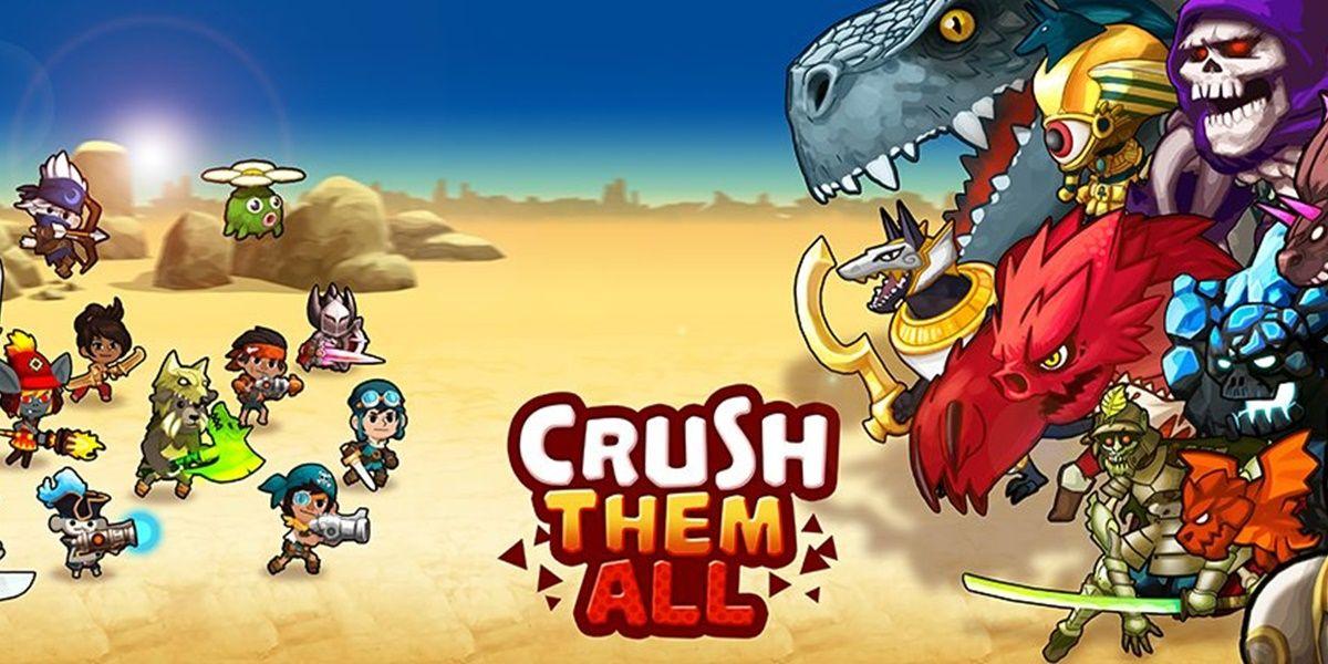 crush them all mejores personajes y runas