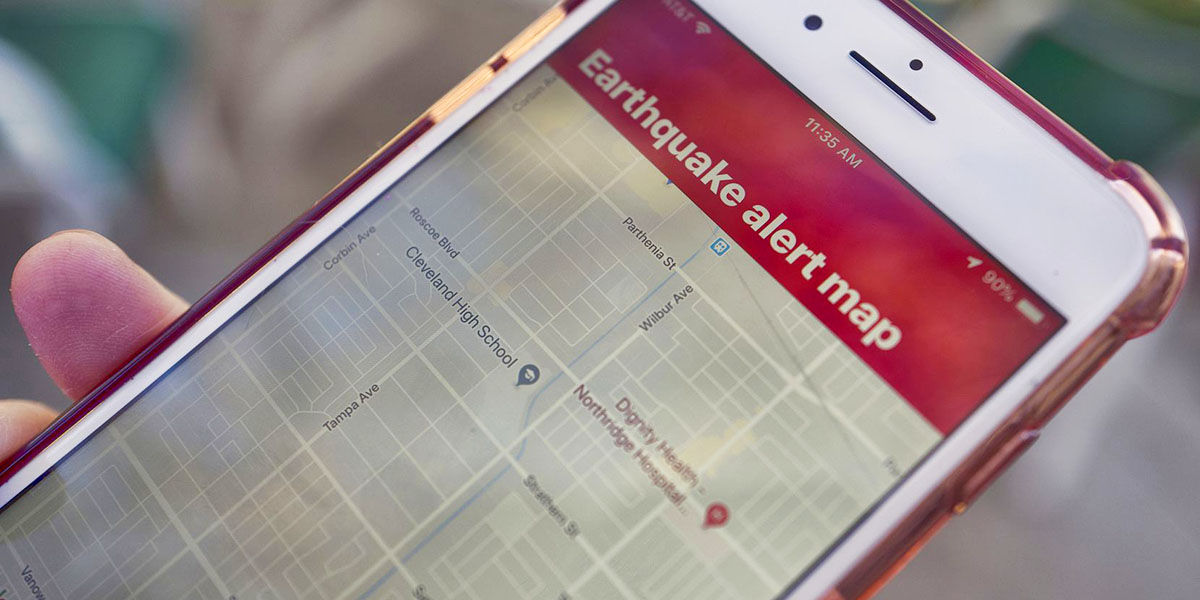 cual es la mejor app para prevenir un terremoto