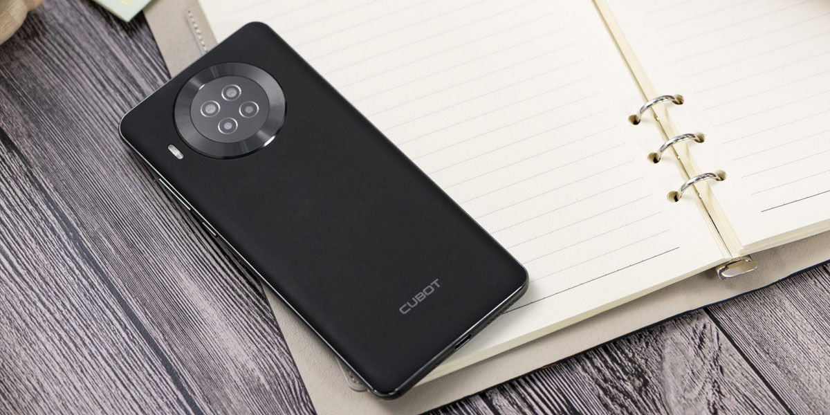 cubot note 20 pro diseño cámara