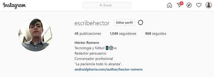 cuenta instagram inhabilitar