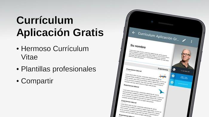 curriculum aplicación gratis
