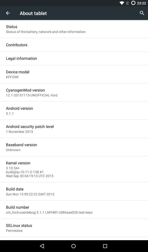 cyangenmod 12.1 para fire tablet amazon