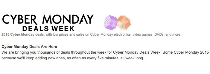 cybermonday amazon españa 2015