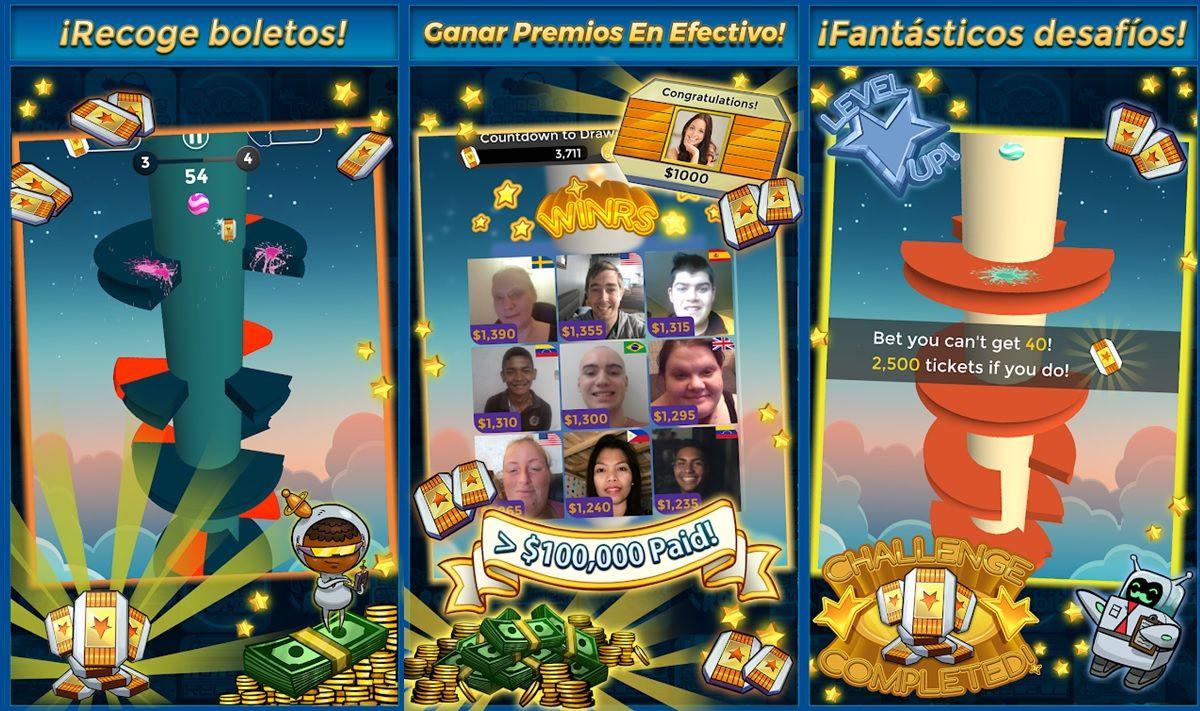 daring descent juego para ganar dinero