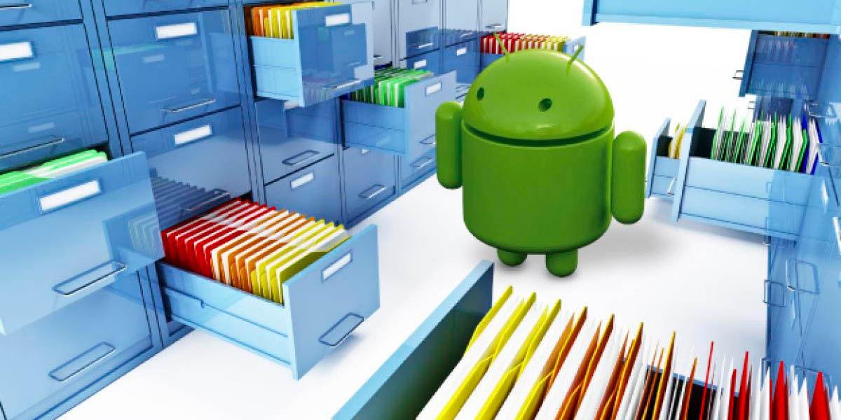 datos borrados android