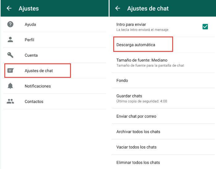 desactivar descargas automaticas whatsapp2