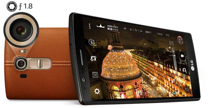 LG G4 tiene la segunda mejor cámara