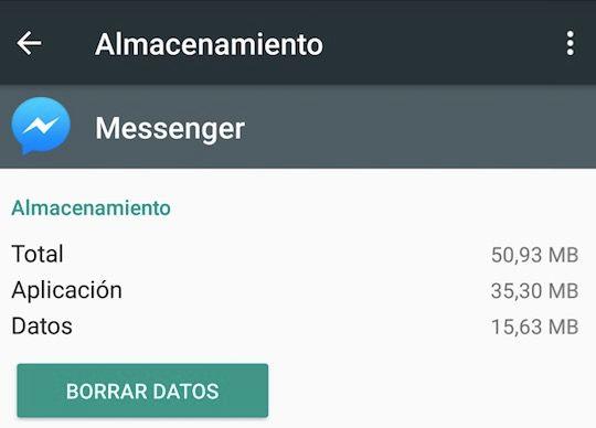 desactivar facebook messenger en android