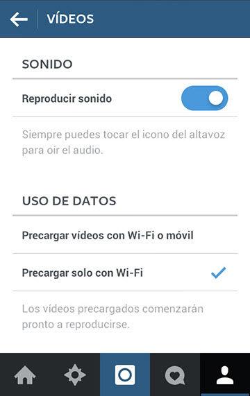 desactivar reproduccion automatica videos en android2