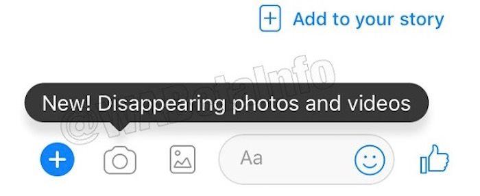 desaparecen fotos y videos messenger