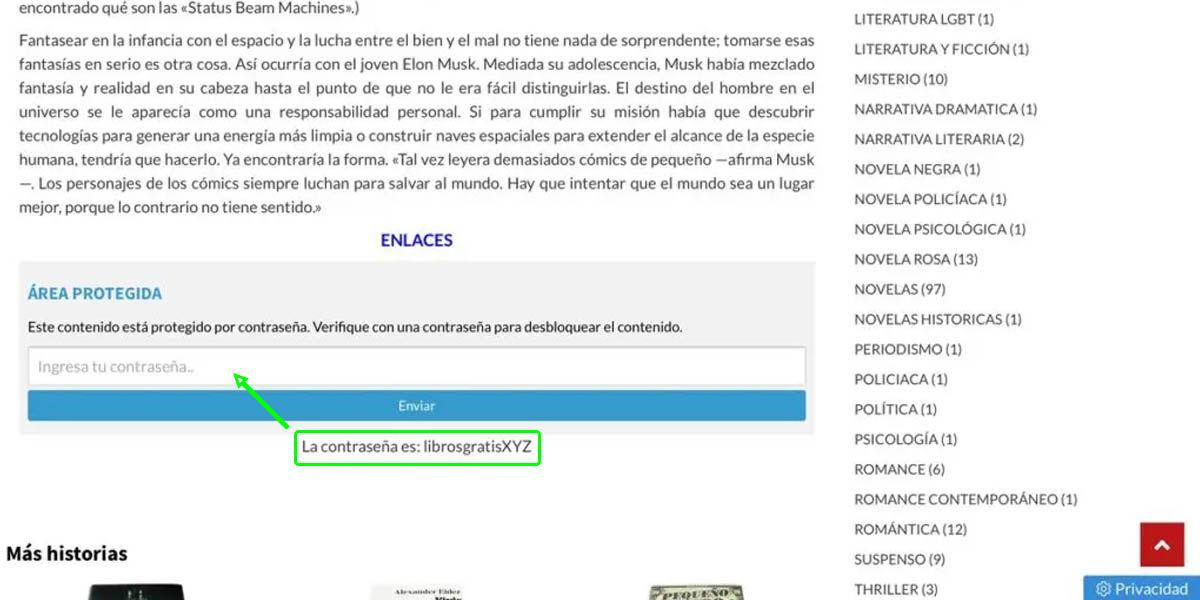 desbloquear enlaces descarga libros gratis xyz