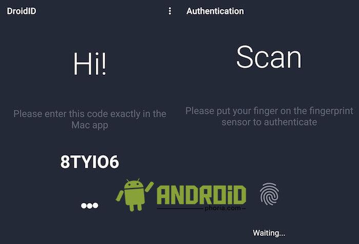 desbloquear mac con android droidid