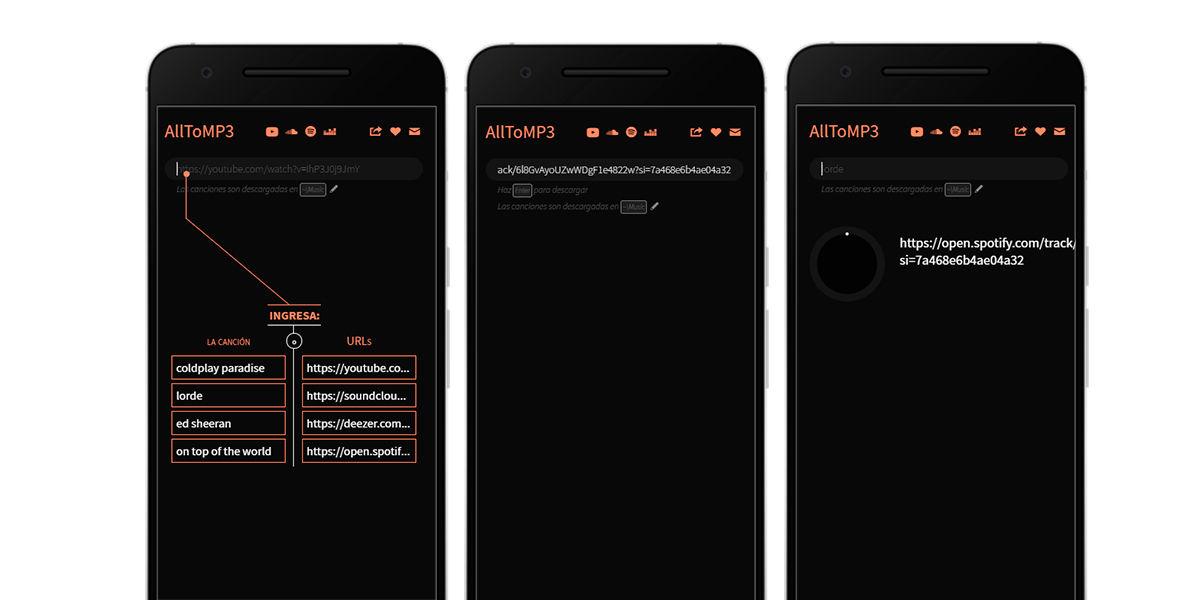 descarga spotify a mp3 alltomp3 windows ordenador