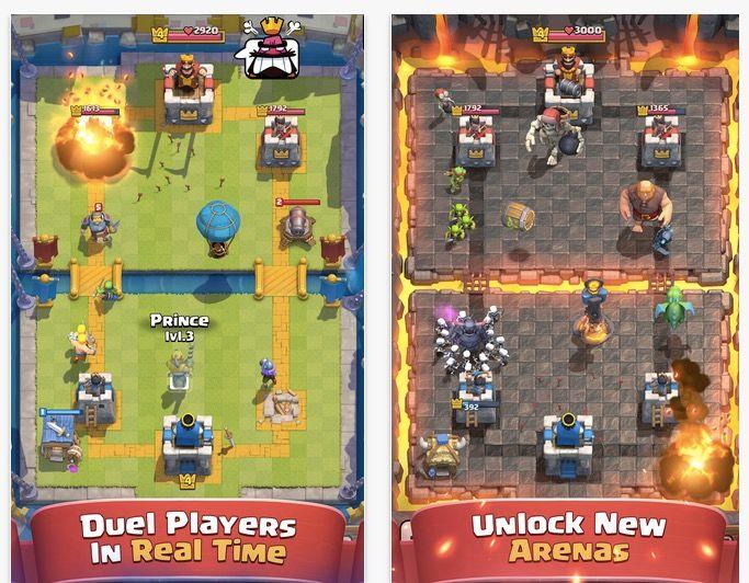 descargar clash royale para ios