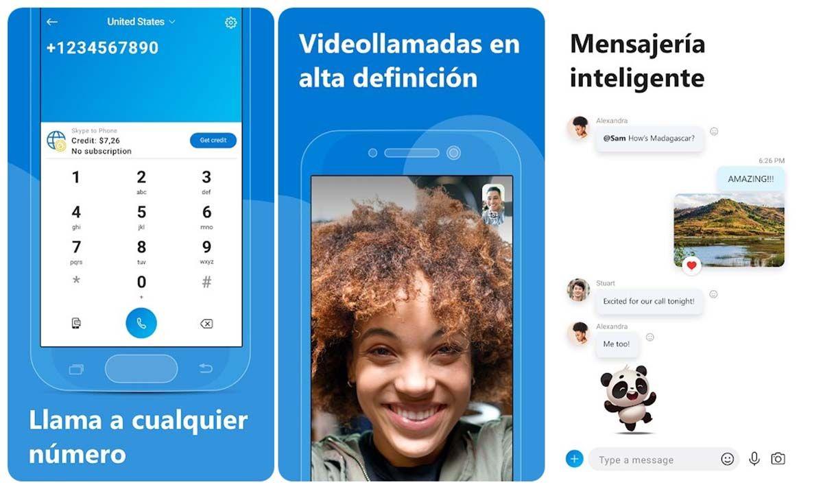 descargar skype españa cuarentena videollamadas 10 personas