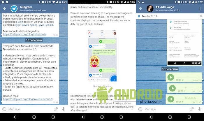 descargar telegram 3.5 para android