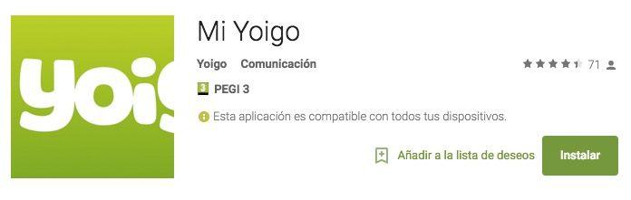 descargar yoigo google play