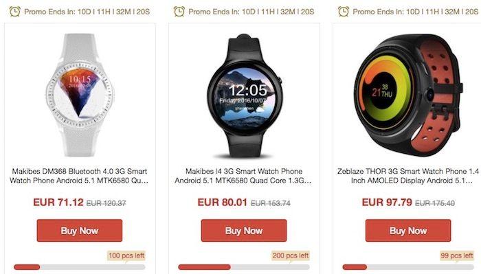 descuentos tecnologia geekbuying smartwatch