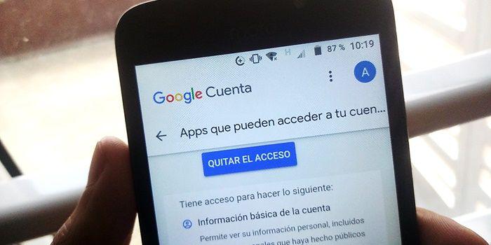 desvincular apps de tu cuenta de google