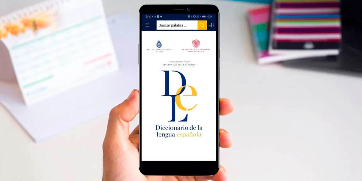 diccionario lengua española android corregir textos