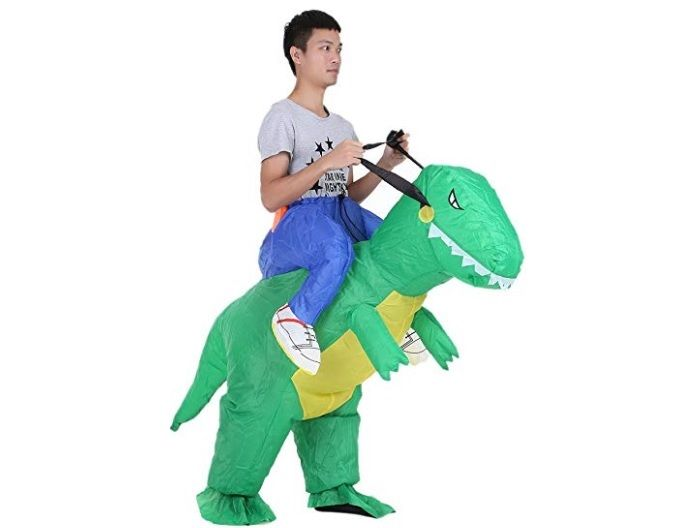 dinosaurio inflable