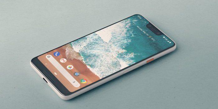 diseño google pixel 3