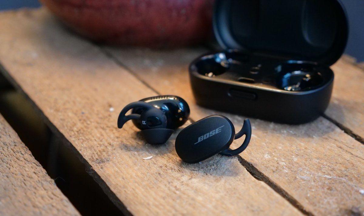 diseño de los Bose QuietComfort Noise Cancelling Earbuds