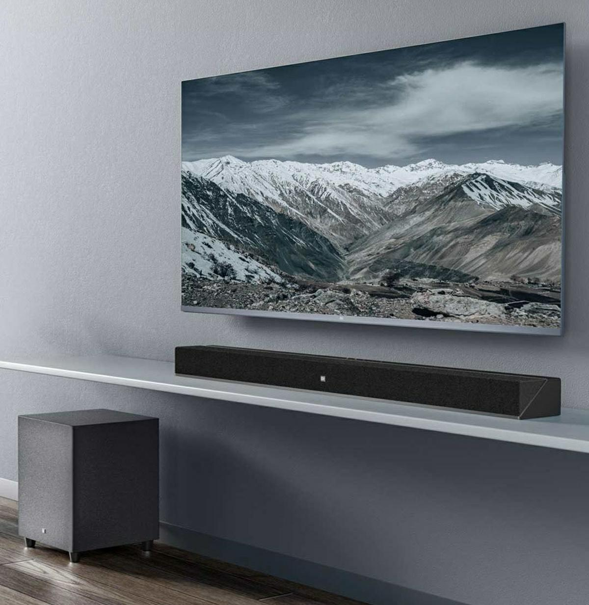 diseno xiaomi Mi TV Speaker Home Theater Edition