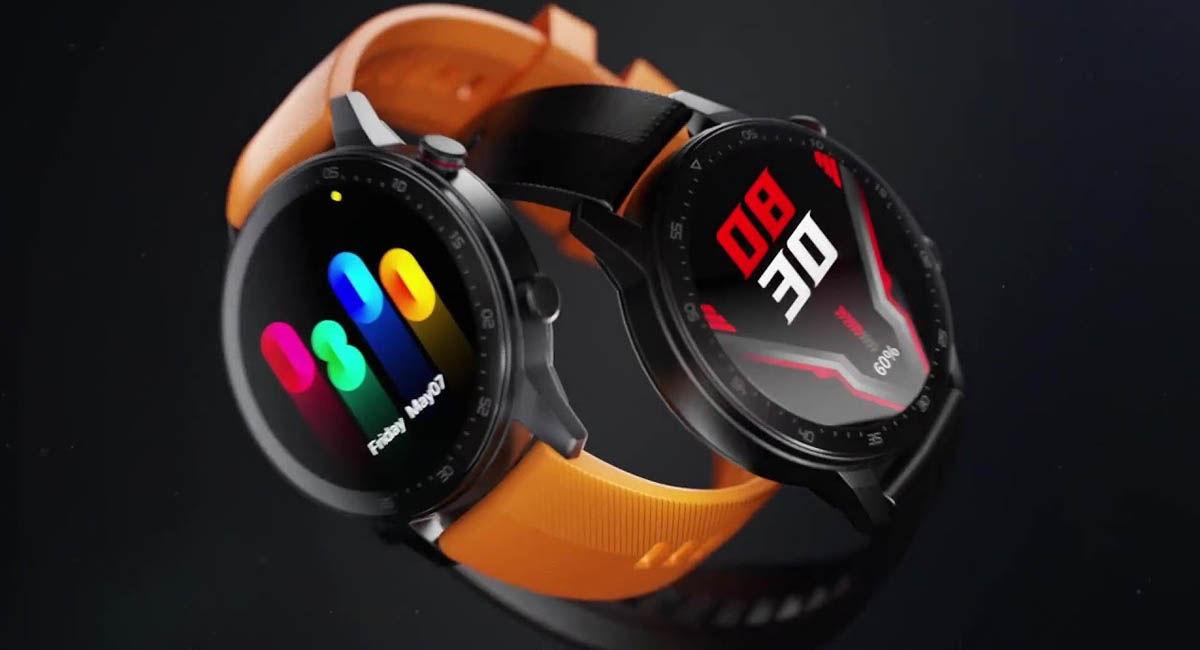 diseño y pantalla nubia redmagic watch