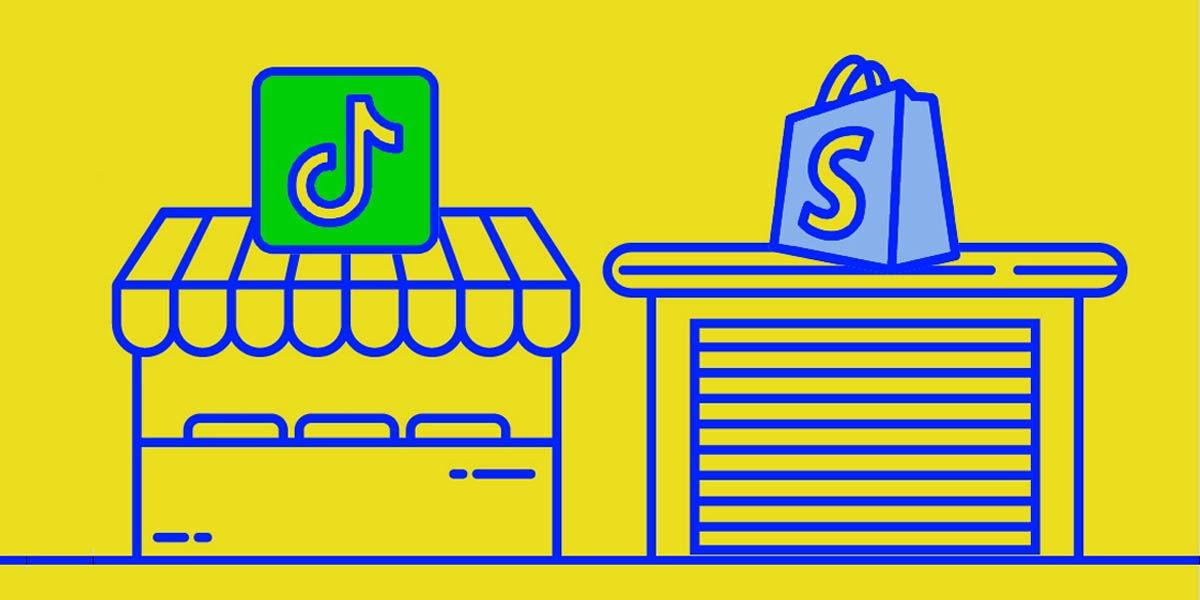 disponibilidad tiktok tiendas shopify