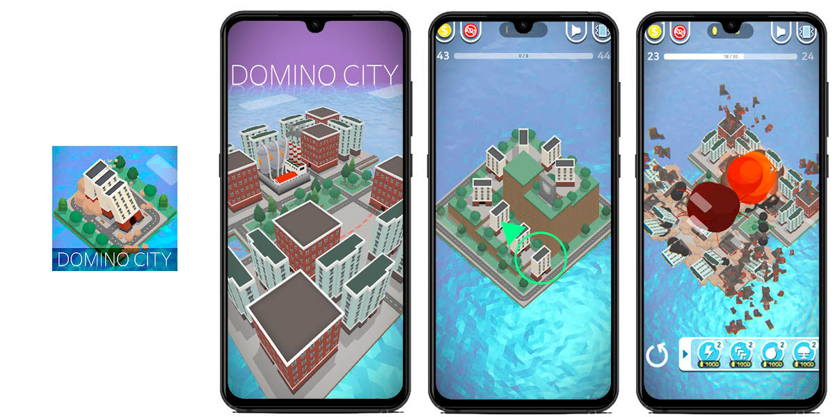 domino city android juego indie