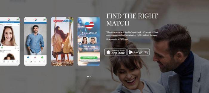 donald dating app ligar