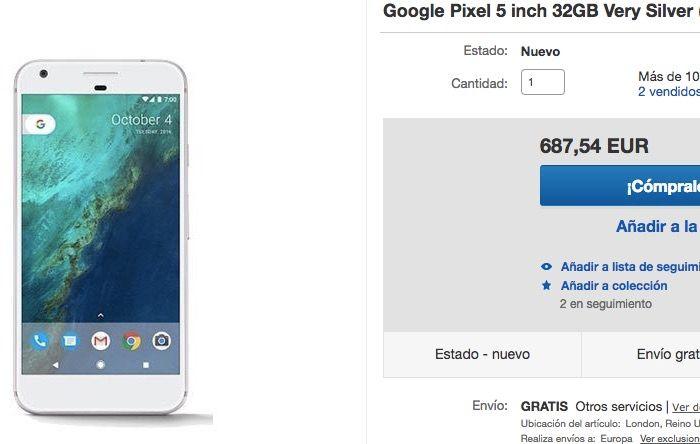 D nde comprar el google pixel m s barato en espa a - Donde comprar trapillo barato ...