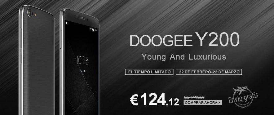 doogee y200 precio