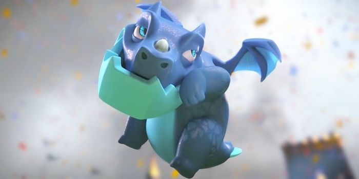 dragon electrico clash royale