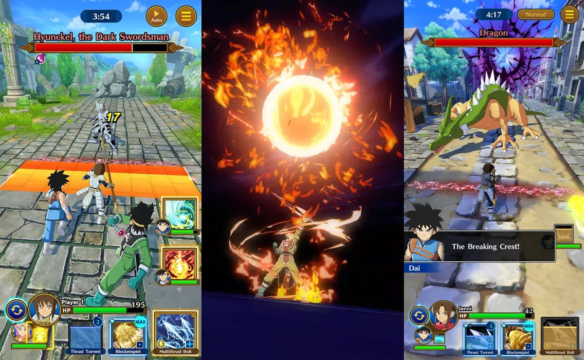 dragon quest la aventura de dai gameplay