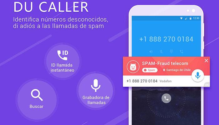DU Antivirus peligroso DU Caller Google Play