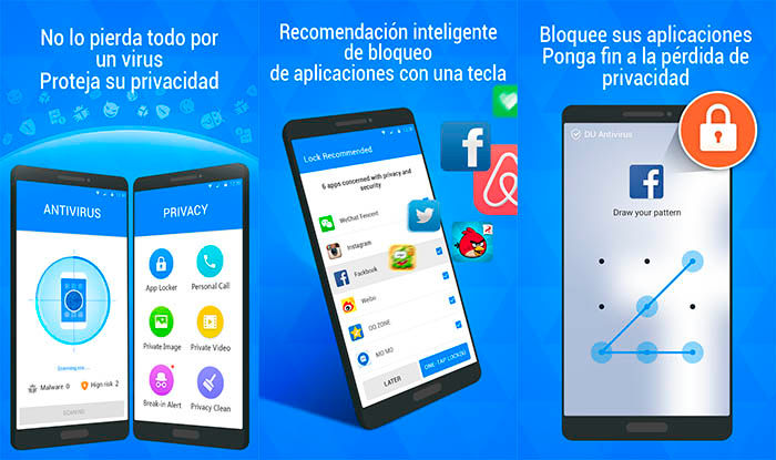 DU Antivirus peligroso Google Play
