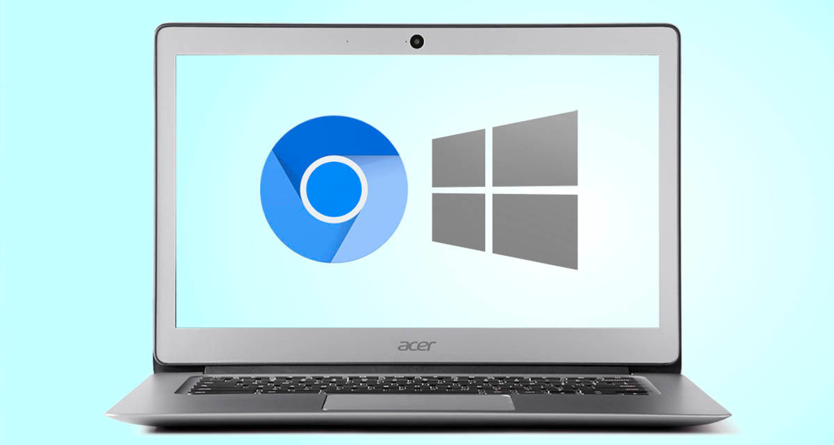 dual boot windows chrome os