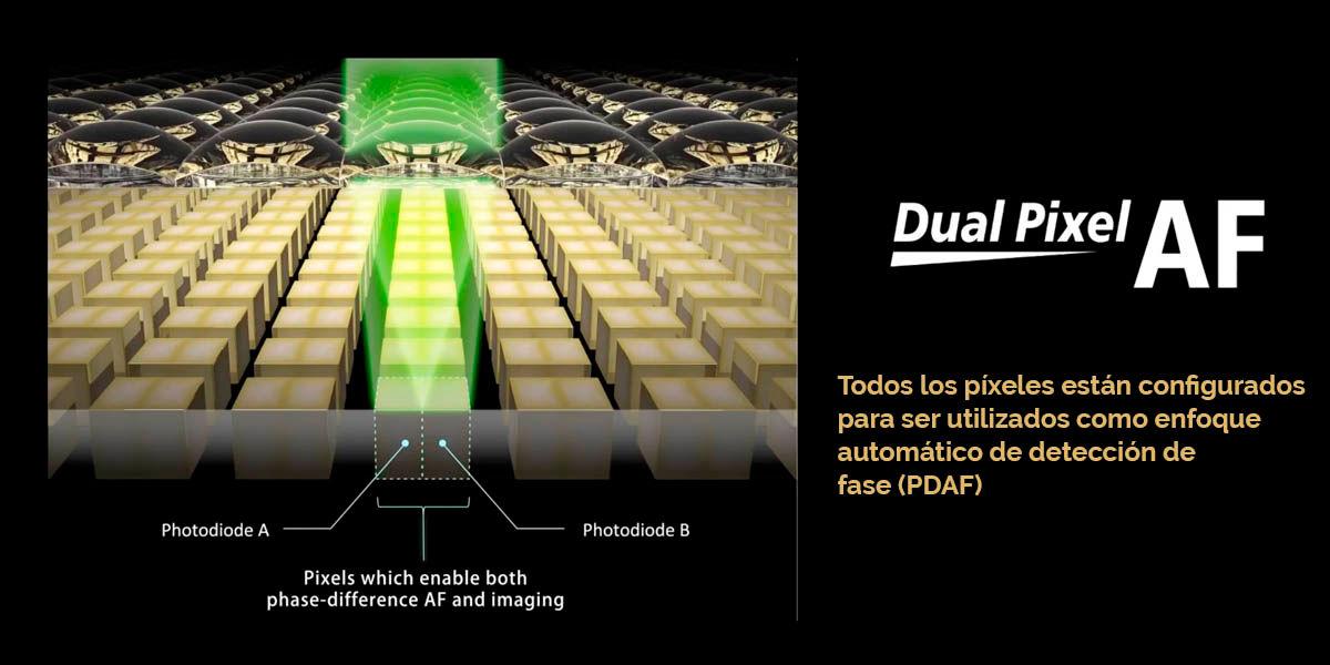 dual pixel AF