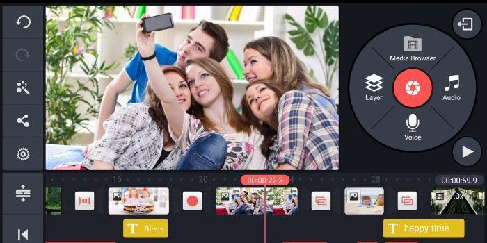editores de vídeo para celular android