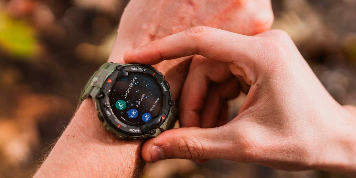 el amazfit t-rex es el smartwatch mas balanceado de huami y xiaomi