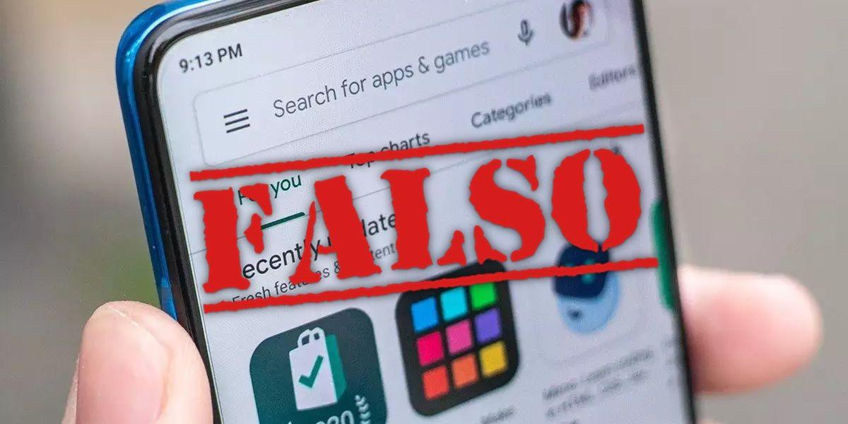 el problema de las reseñas falsas google play store