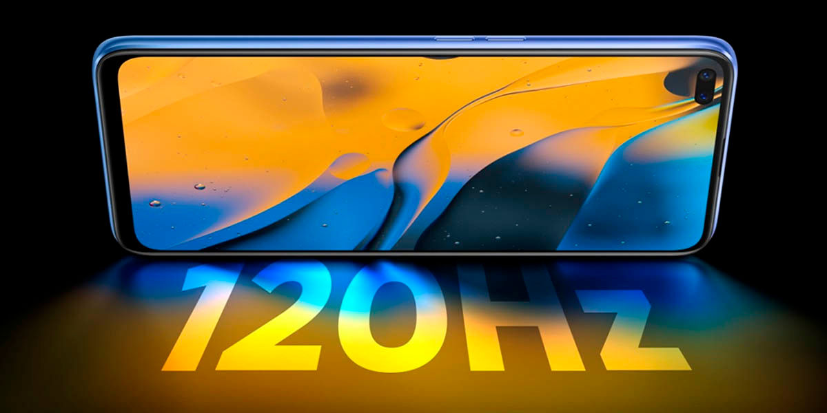 el realme x50 5g tiene la mejor pantalla de la gama media