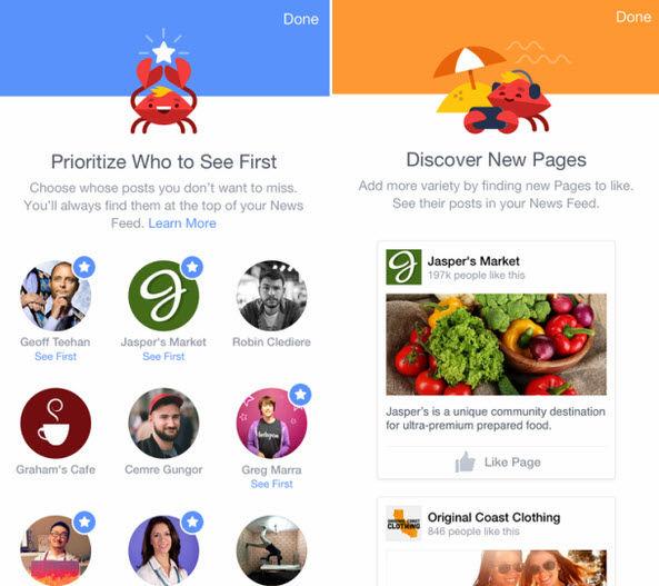 elegir que publicaciones ver primero en facebook1