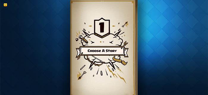 elegir una historia