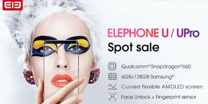 elephone u pro venta